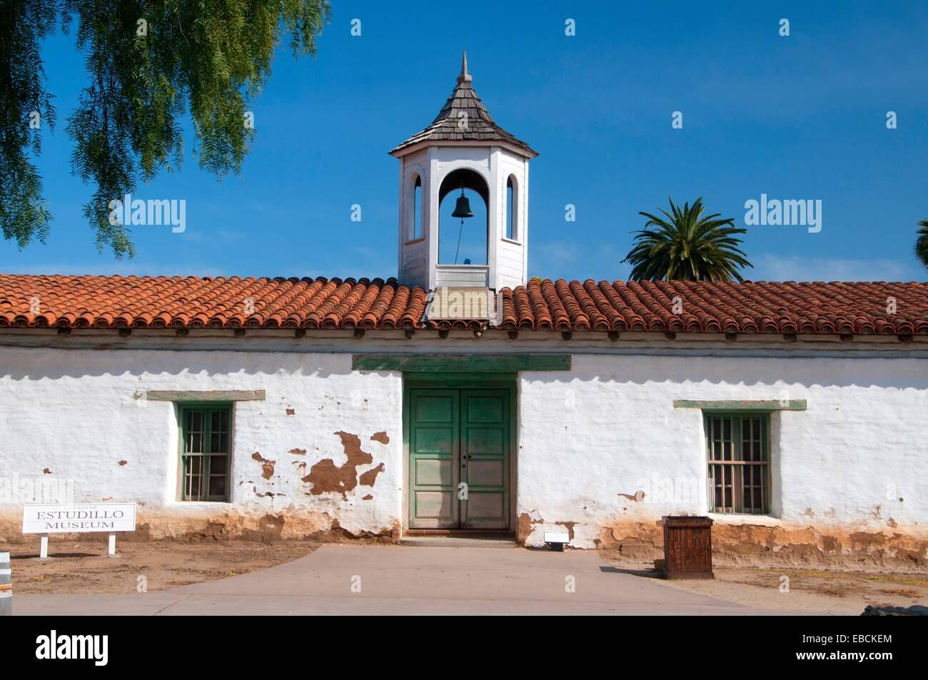 La casa de estudillo old town san diego state historic - La casa vintage ...
