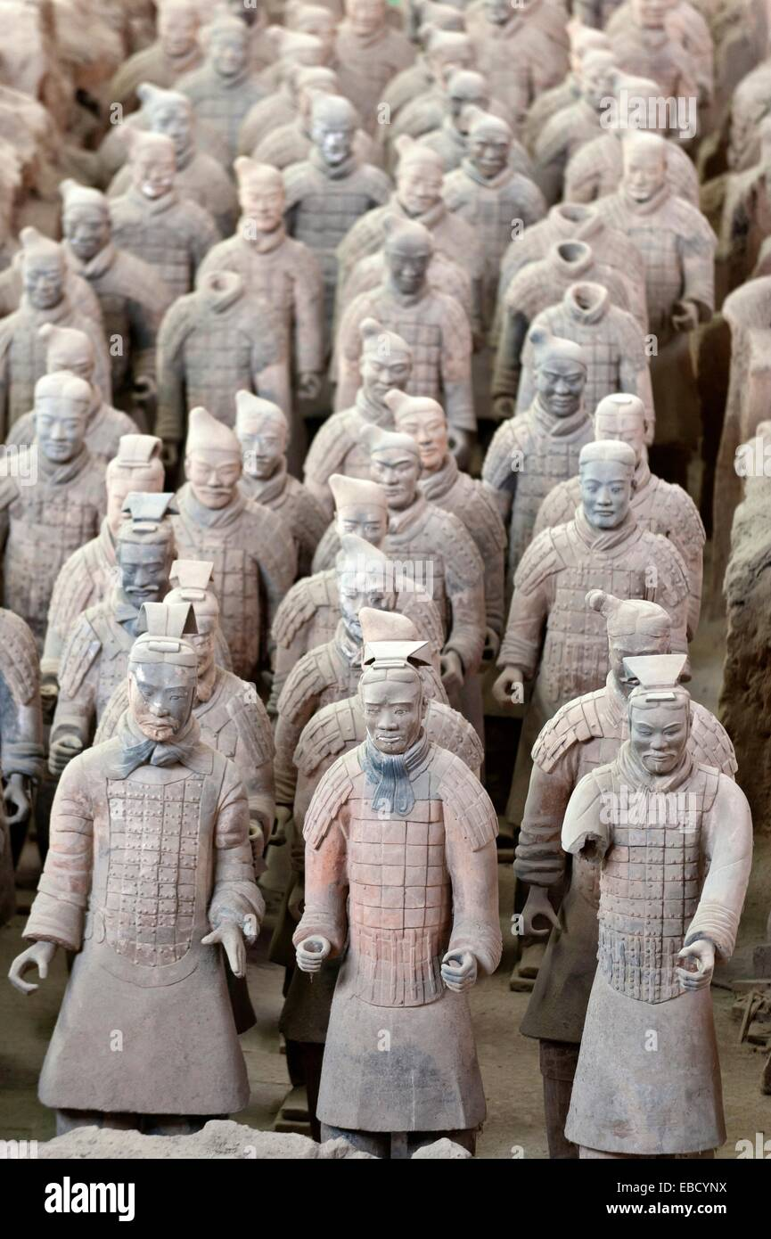 Terracotta soldiers tomb of qin shi huang di xian china stock tomb of qin shi huang di xian china sciox Gallery