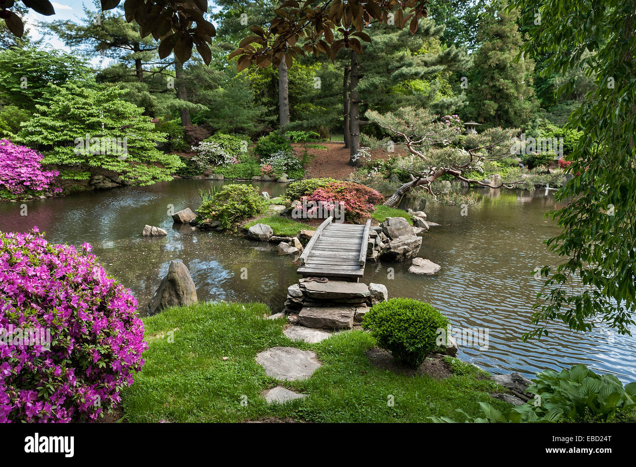 Japanese Garden Philadelphia USA Stock Photo Royalty Free Image 75889768 - Alamy