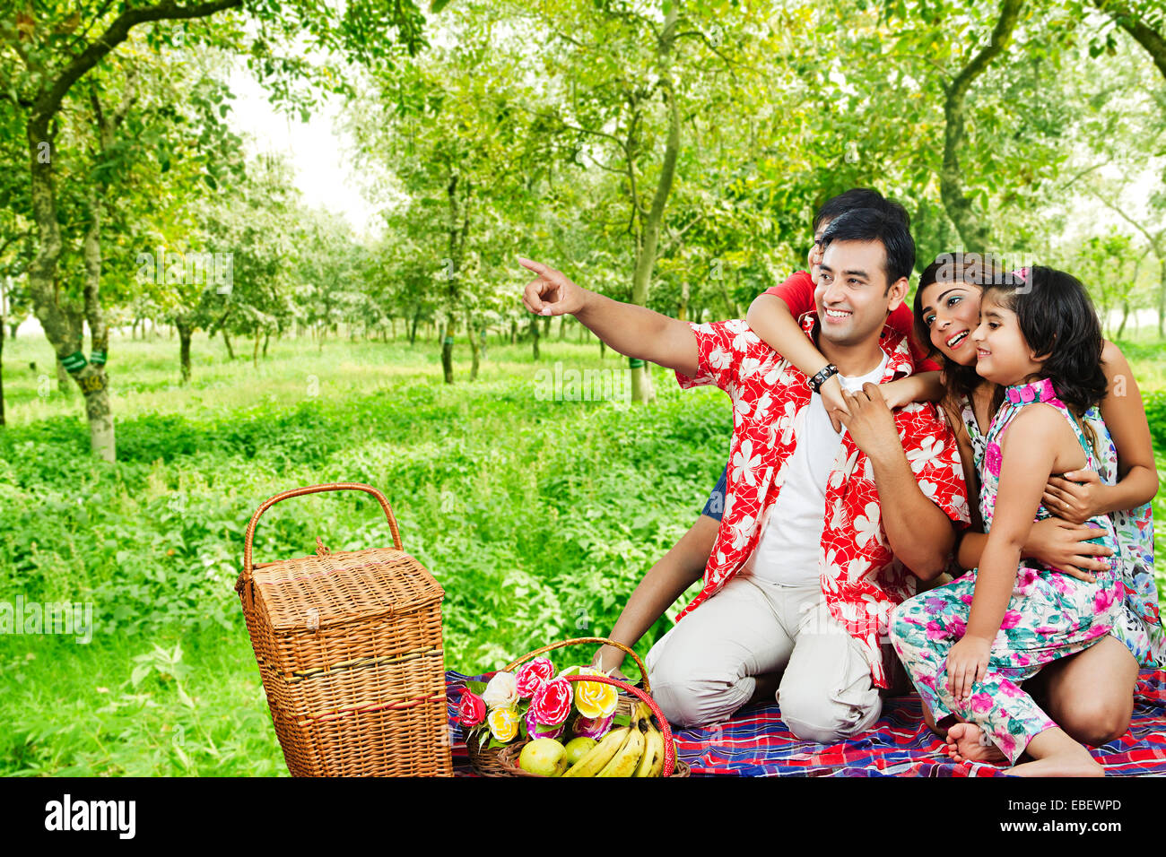 Indian Family Beach Enjoy Picnic Stock Photo Royalty Free Image 75930245 Alamy