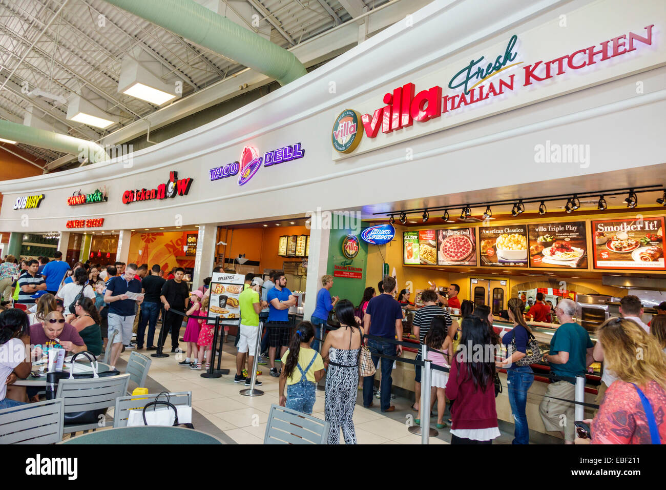Marketplace Mall Food Court