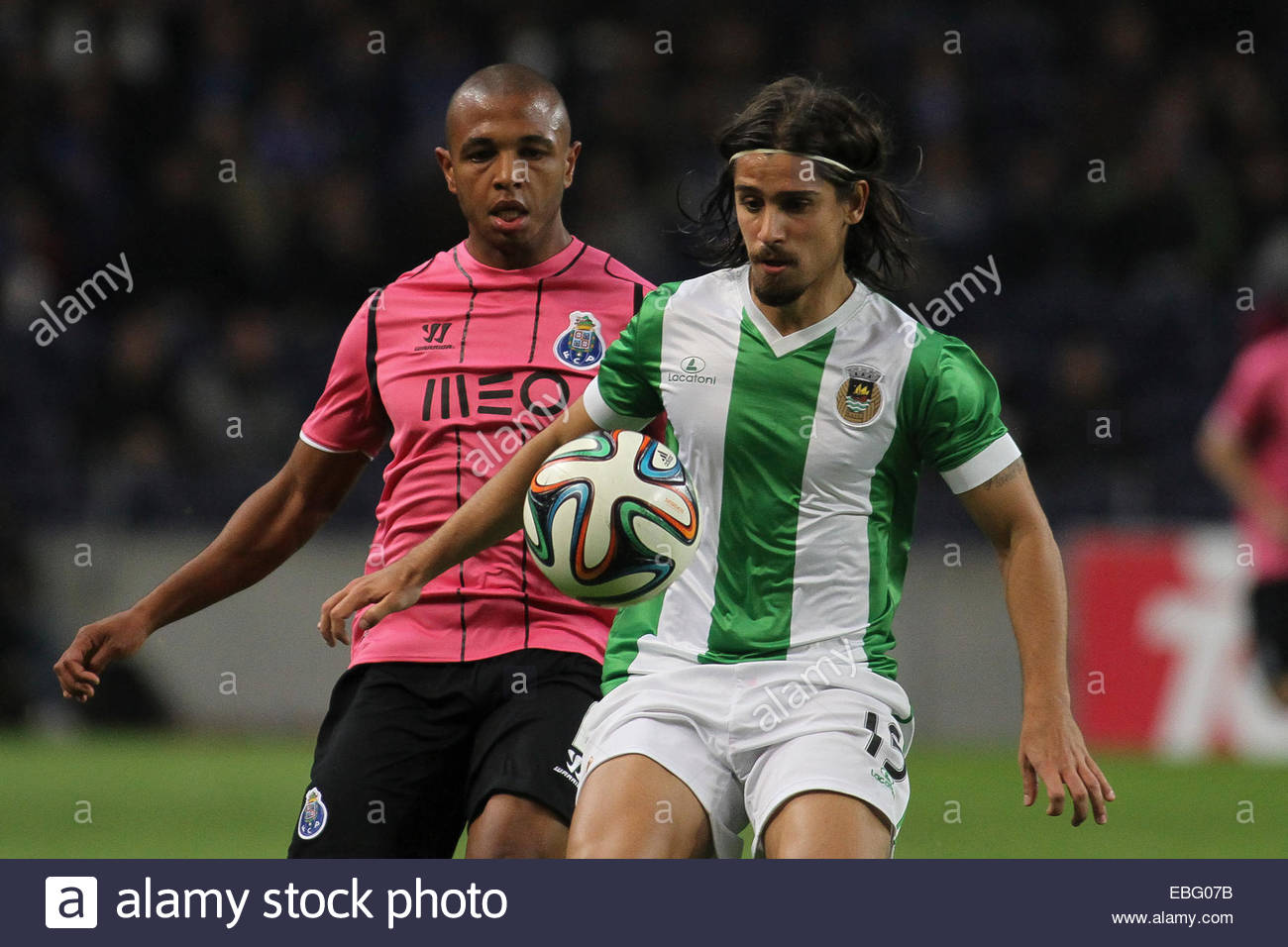 PORTUGAL Porto Porto s Algerian midfielder Yacine Brahimi and