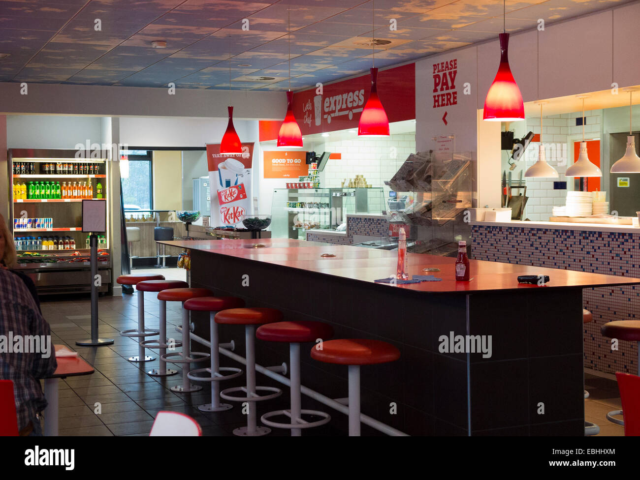 Tables Breakfast Bar Counter In Little Chef Fast Food