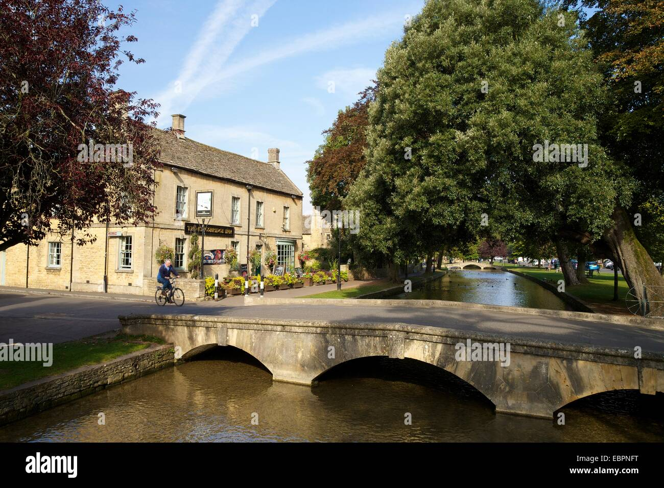 Bourton on the Water United Kingdom  City new picture : Kingsbridge Inn And River Windrush, Bourton on the water, Cotswolds ...