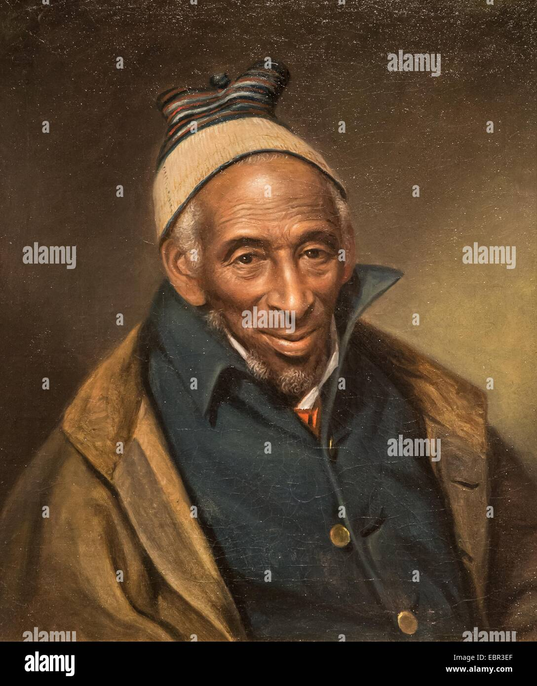 Exceptionnel ActiveMuseum0003283.jpg / Portrait of Yarrow mamout (Muhammad Yaro  WK46
