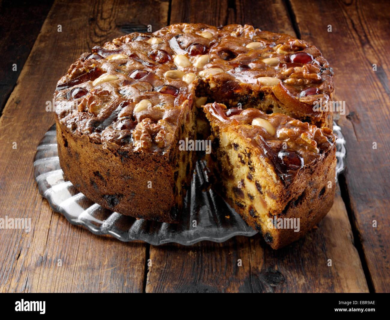 Genoa Fruit Cake Mary Berry