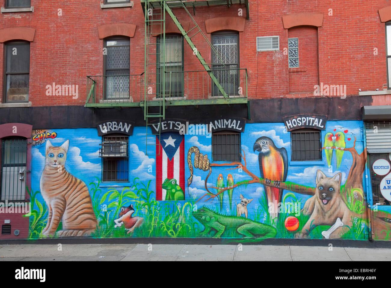 Graffiti wall usa - Stock Photo Graffiti On House Wall Usa East Village New York City