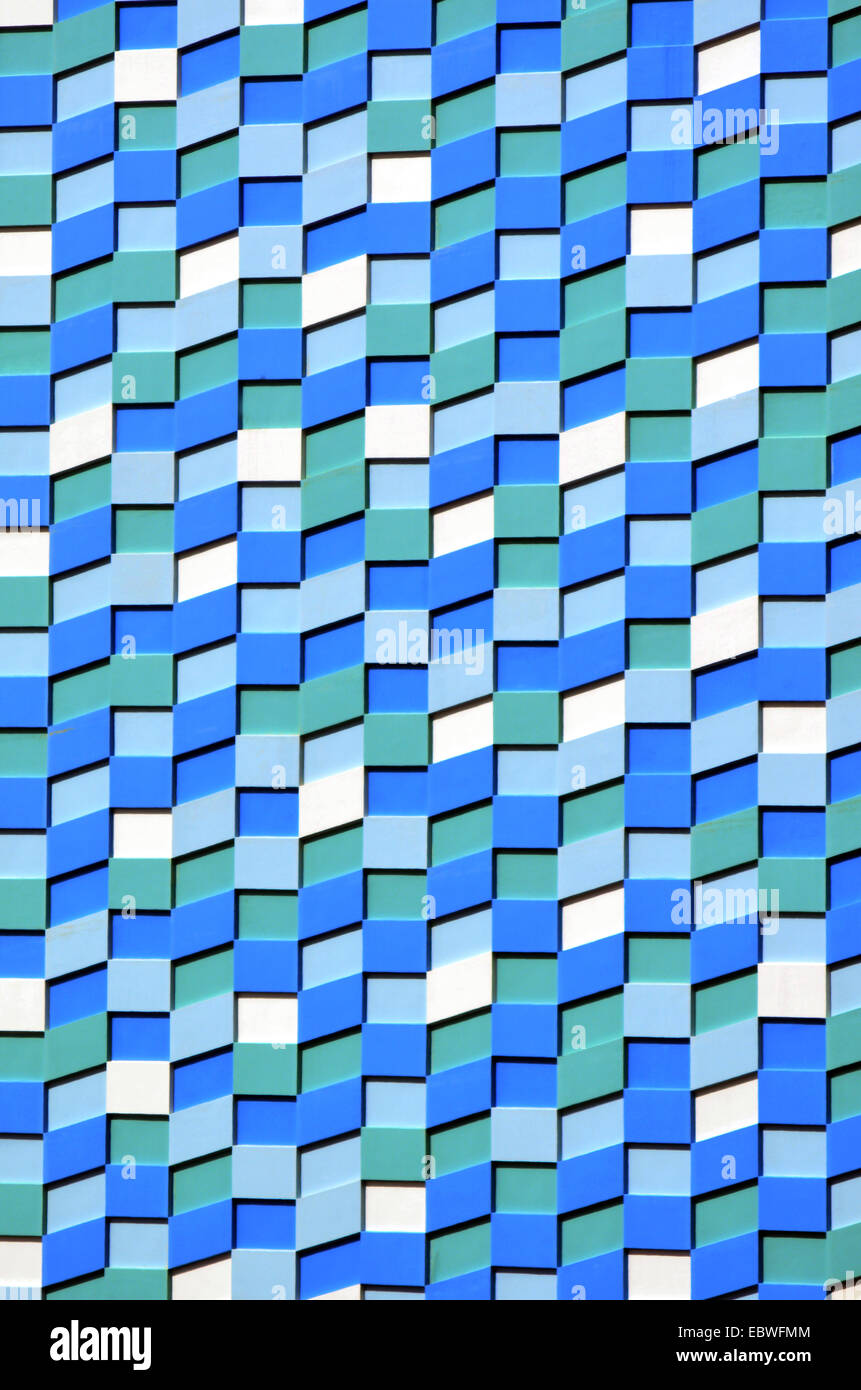 Blue White And Green Wall Tiles Abstract Texture