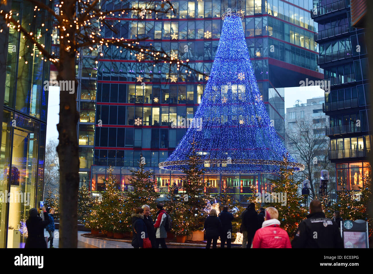 Berlin Germany 05th Dec 2014 Christmas Tree