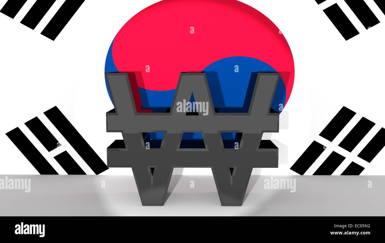 Symbol for korean currency gallery symbol and sign ideas currency symbol south korean won made of dark metal in spotlight currency symbol south korean won biocorpaavc