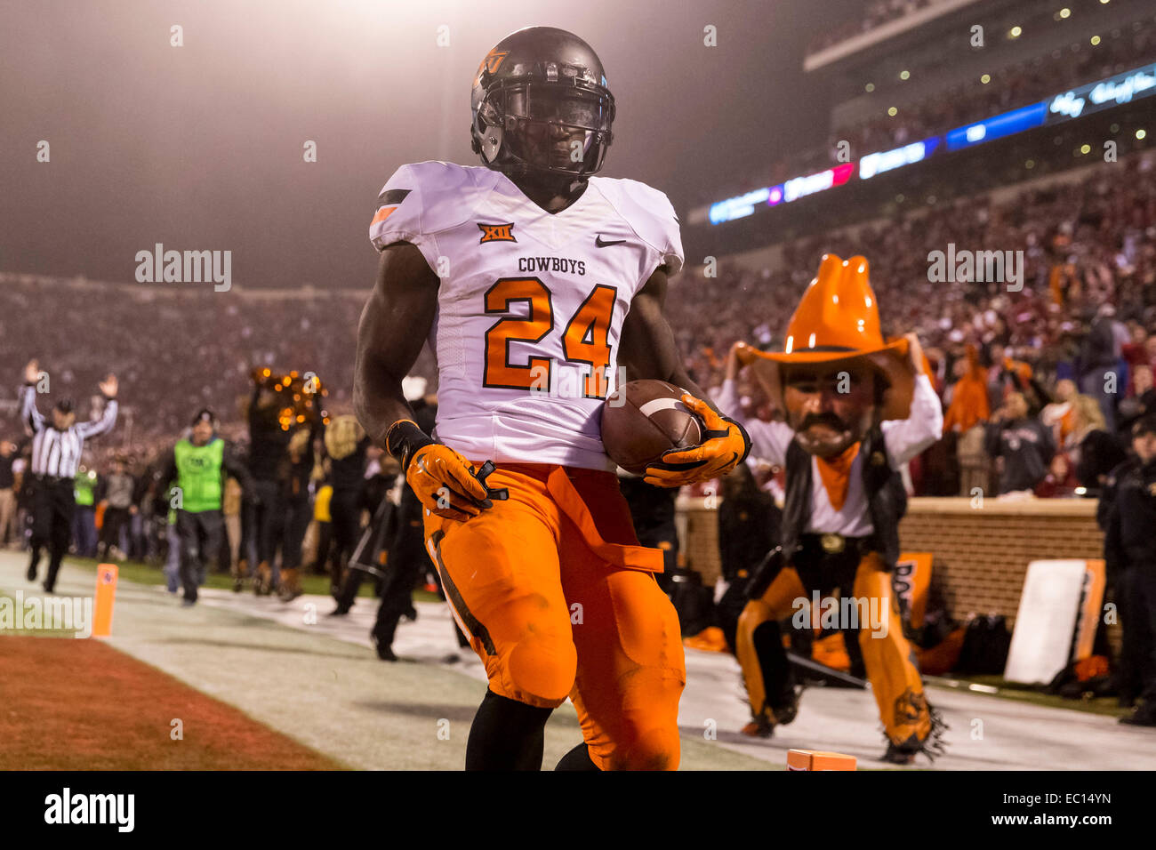 December 6 2104 Oklahoma State Cowboys wide receiver Tyreek Hill