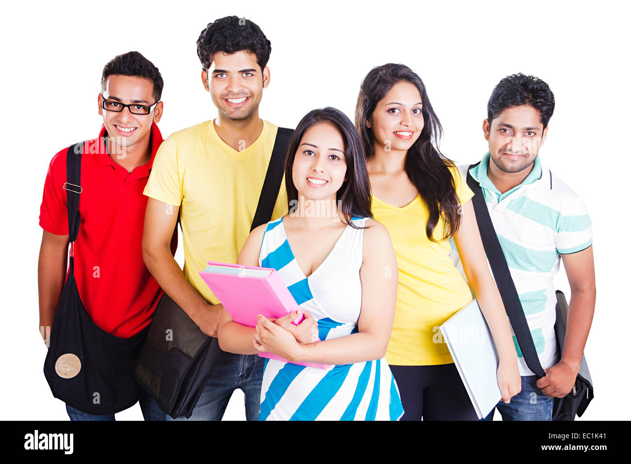 indian college group Friends fun Stock Photo, Royalty Free ...