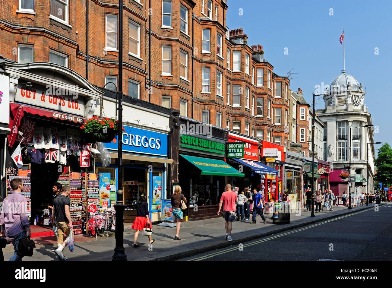 Small shops at the queensway bayswater london england for The bayswater