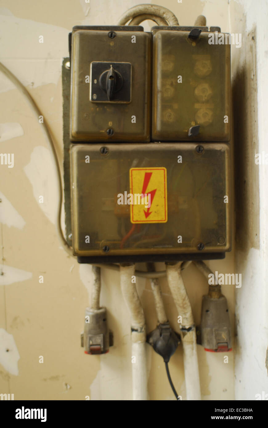 old fuse box EC3BHA old fuse box stock photo, royalty free image 76292310 alamy  at edmiracle.co