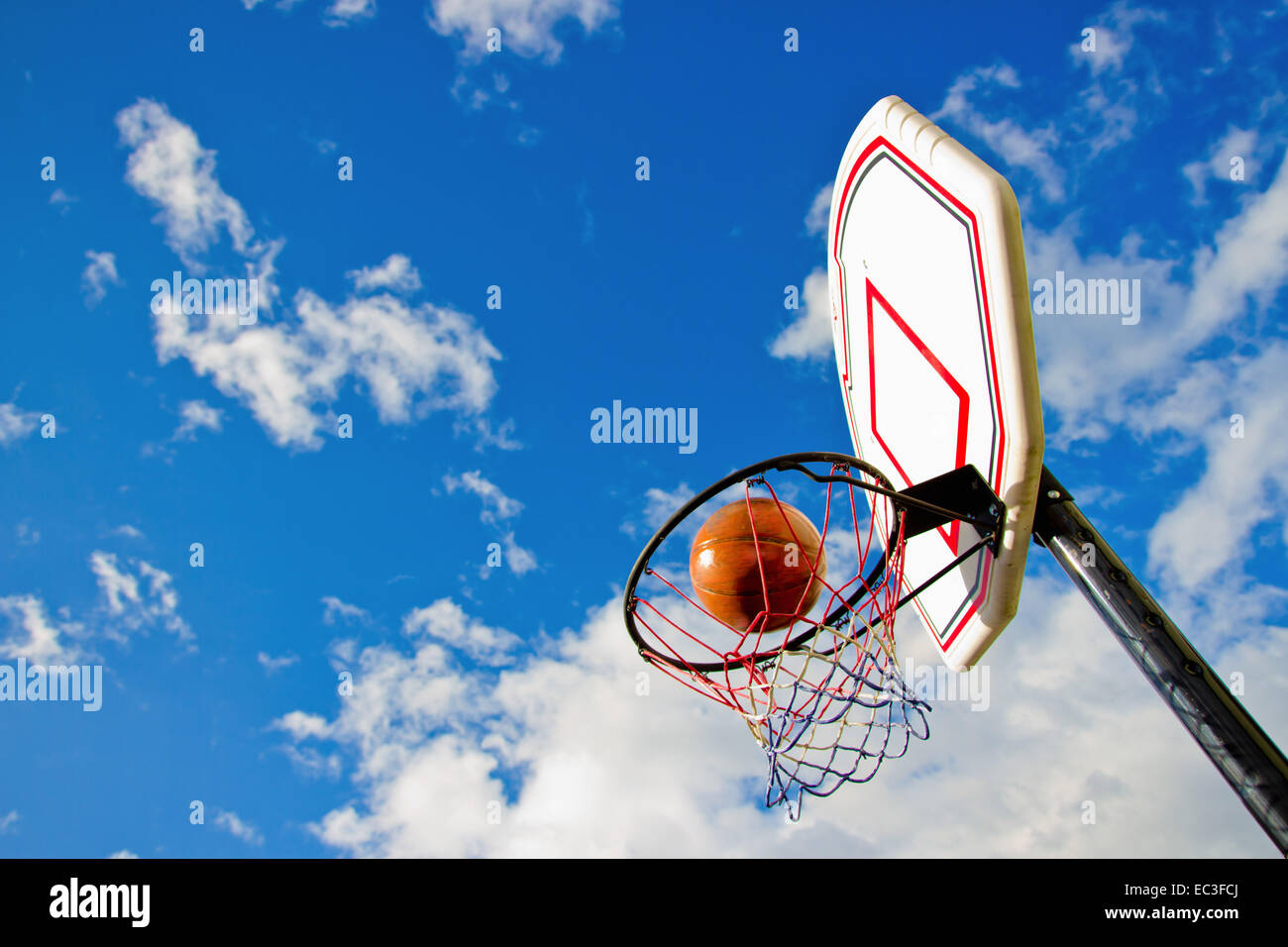 taking a hit in basketball as a symbol of a goal achieved success