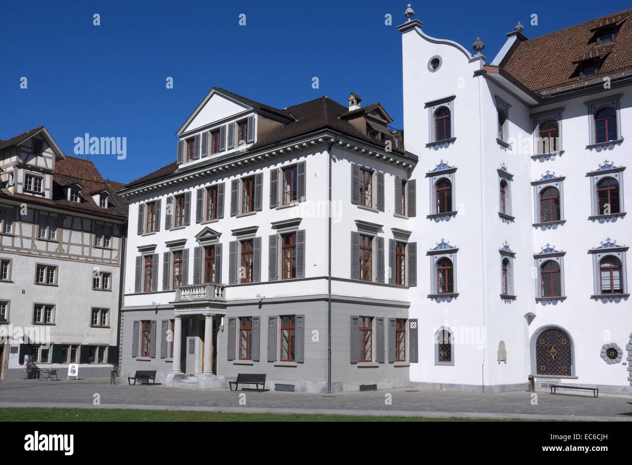 Stadthaus Townhouse St Gallen Canton Of St Gallen