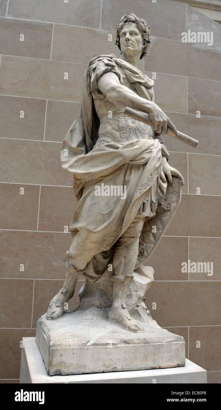 Caesar statue louvre