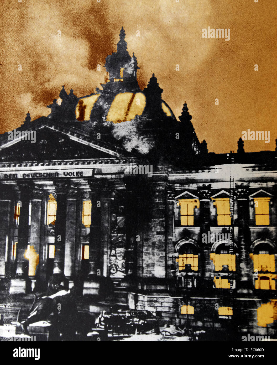 the burning of reichstag building Adolf hitler, fascist chancellor of germany, made this dramatic declaration in my presence tonight in the hall of the burning reichstag building the fire broke out at 9:45 tonight in the assembly hall of the reichstag it had been laid in five different corners and there is no doubt whatever that it was the handiwork of incendiaries one.