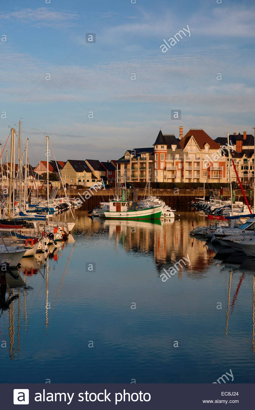 View of port guillaume dives sur mer normandy france stock photo royalty free image - Location dives sur mer port guillaume ...
