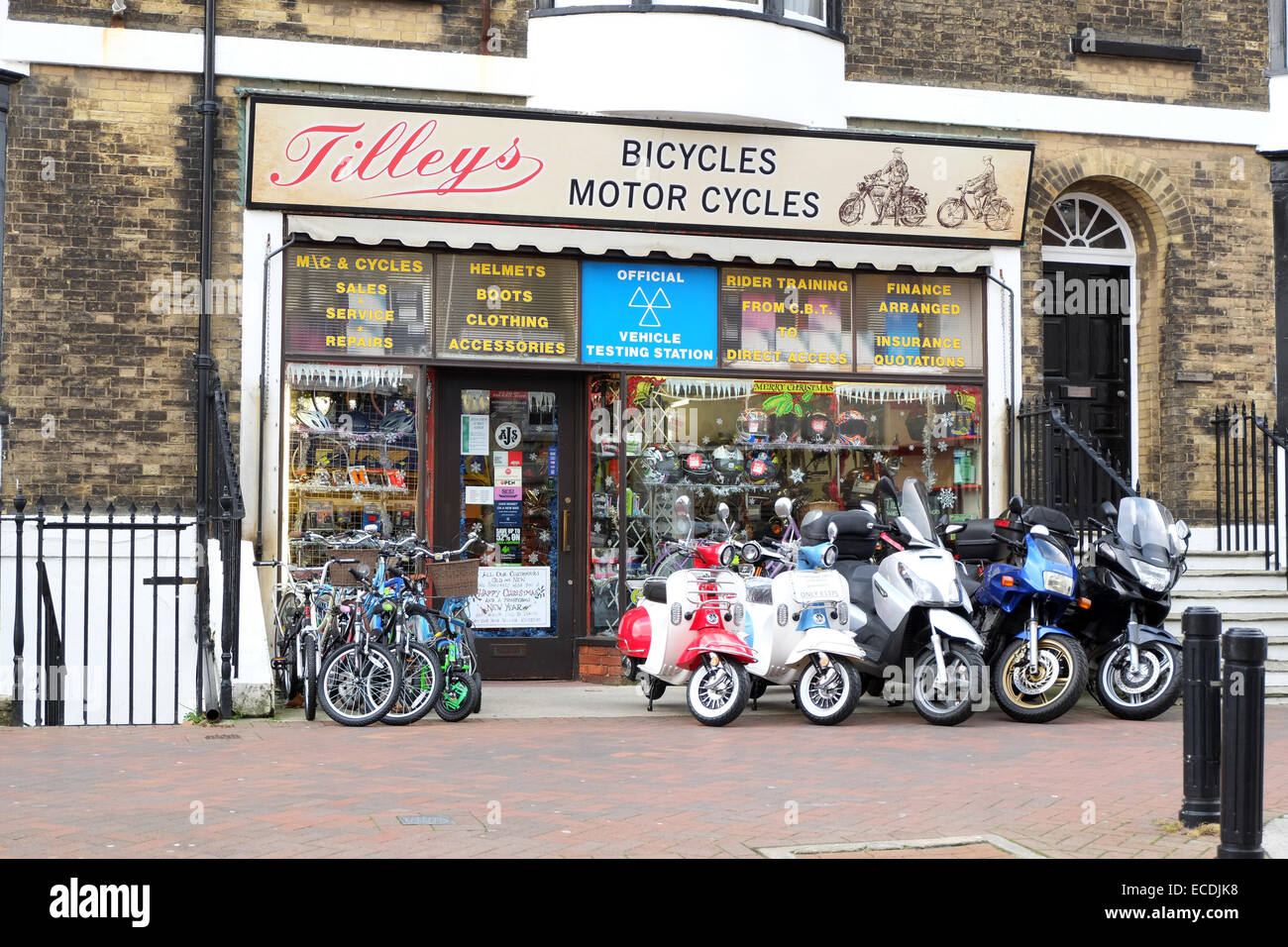 Tilley 39 S Bicycles And Motor Cycles Shop In Weymouth Town