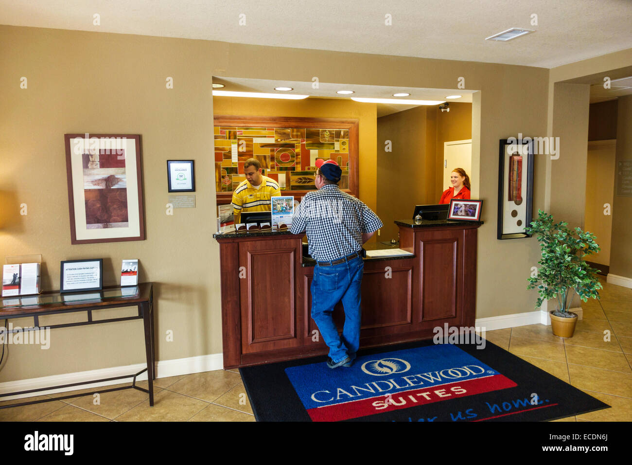 Springfield illinois candlewood suites motel hotel lobby Small hotel lobby