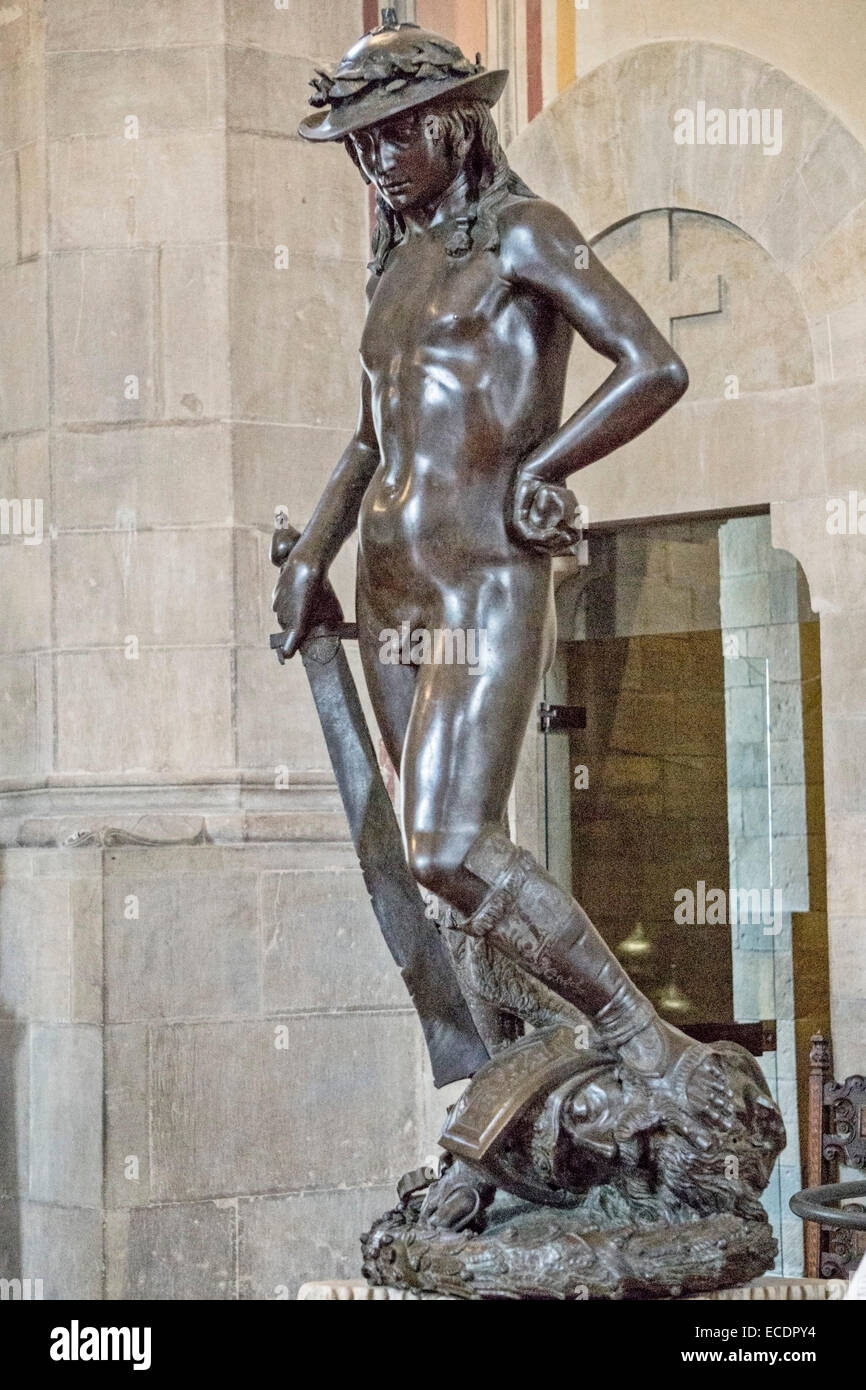 recreation of david sculptures by donatello The artwork is much different from the previous statues made by other famous artists such as verrocchio and donatello david by sculptures the brave david.