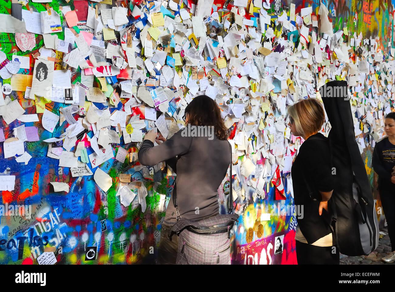 Prague john lennon wall the wall is a symbol of freedom since john lennon wall the wall is a symbol of freedom since the years of communism buycottarizona
