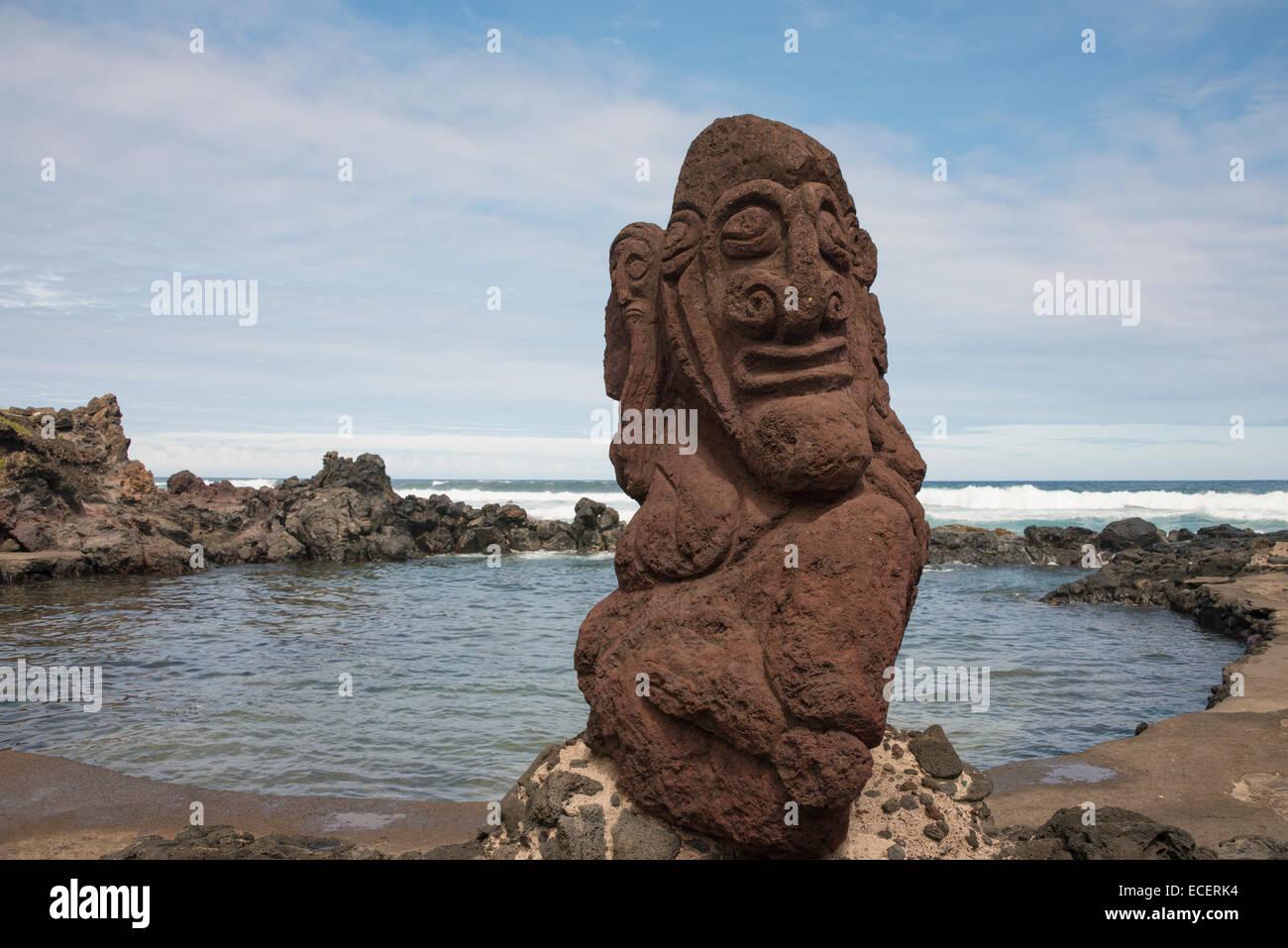 Chile easter island aka rapa nui hanga roa contemporary