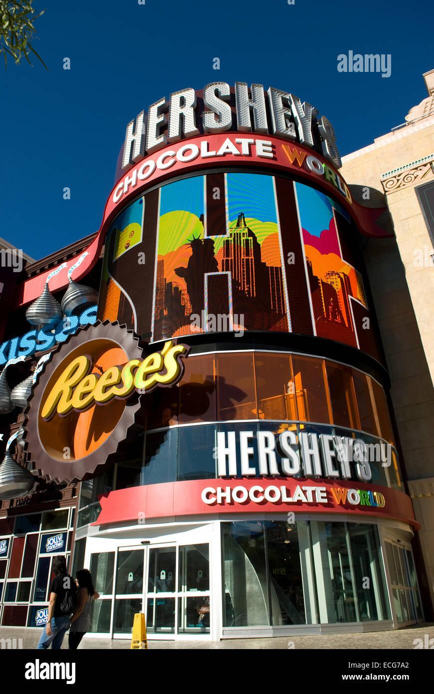Hershey's Chocolate World Las Vegas Nevada USA Stock Photo ...
