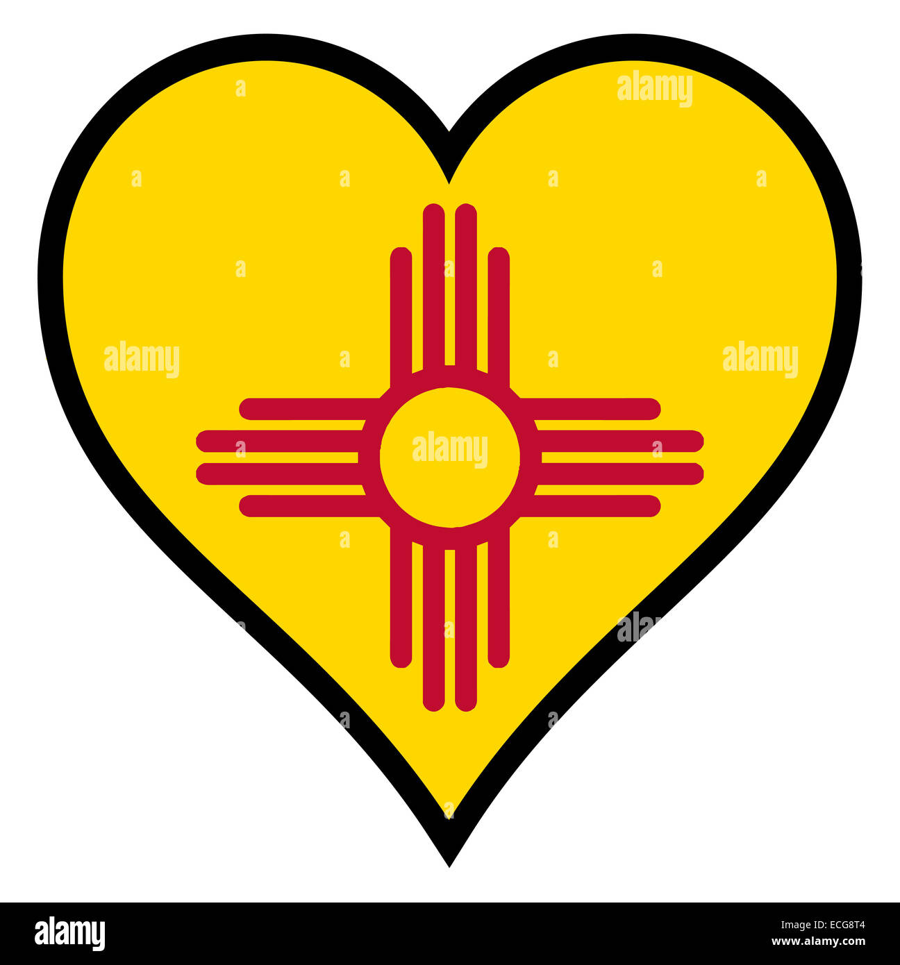 New mexico state flag within a heart all over a white background new mexico state flag within a heart all over a white background buycottarizona