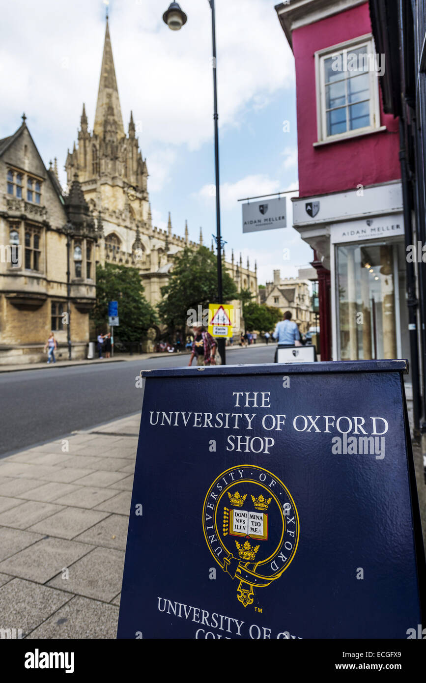 The University Of Oxford Shop Is Located On The High Street Of - Where is oxford located