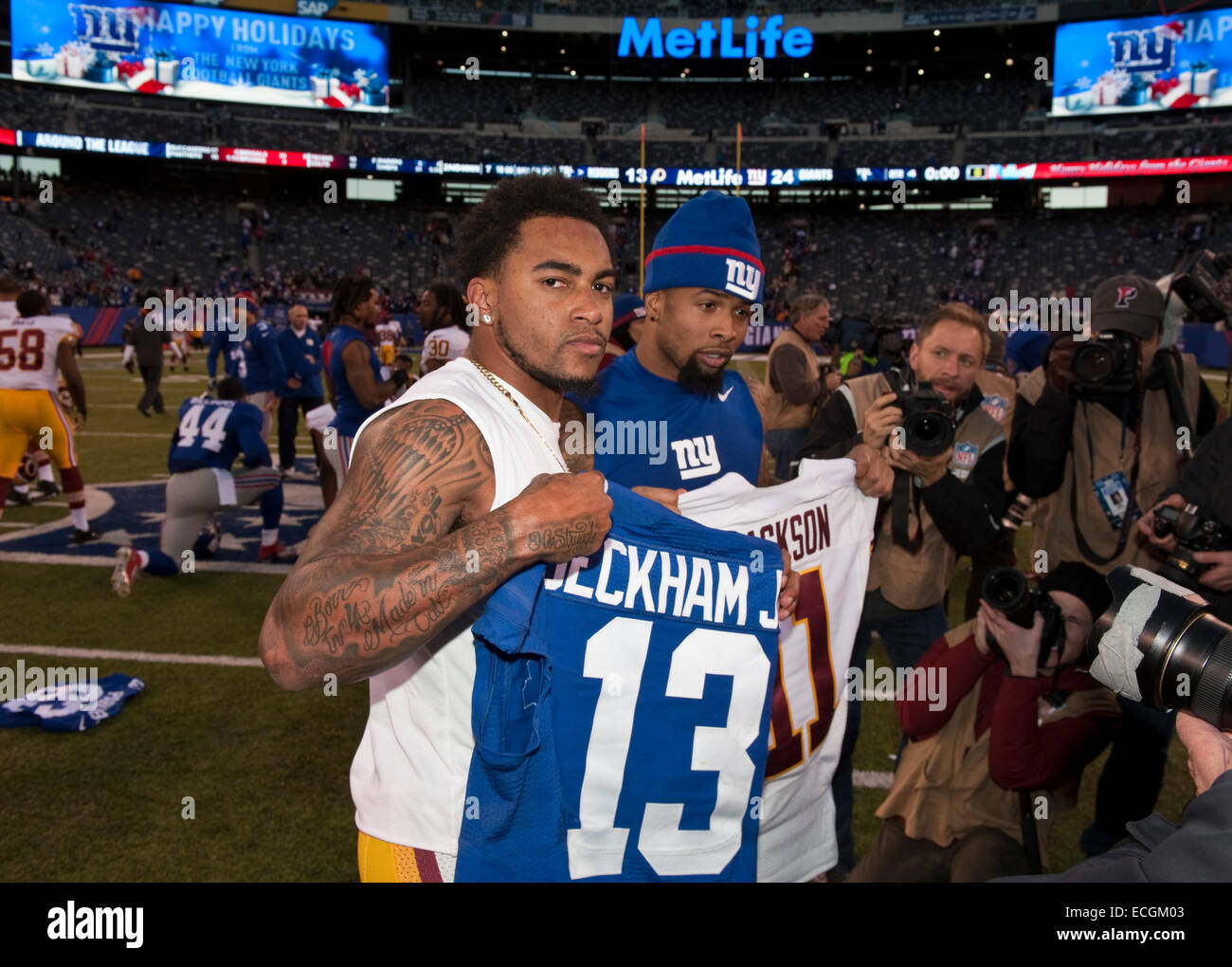 Nike authentic jerseys - East Rutherford, New Jersey, Usa. 14th Dec, 2014. Giants' Wide ...