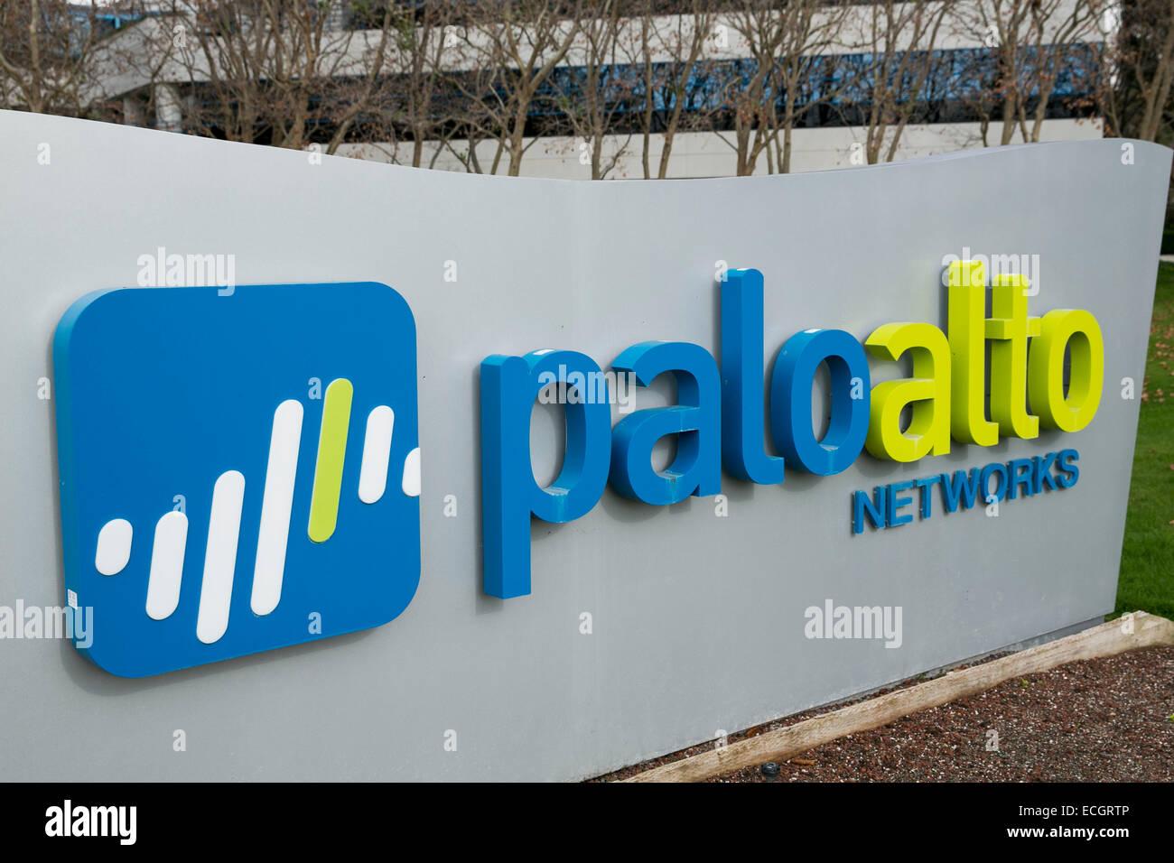 Palo alto sign headquarters stock photos palo alto sign the headquarters of palo alto networks stock image biocorpaavc