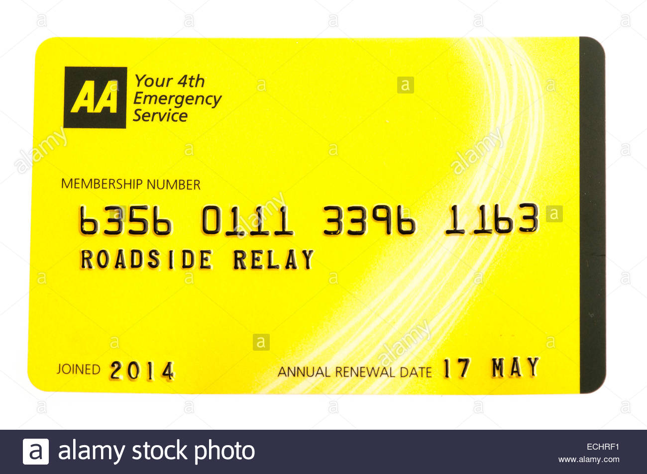 AA Membership Card
