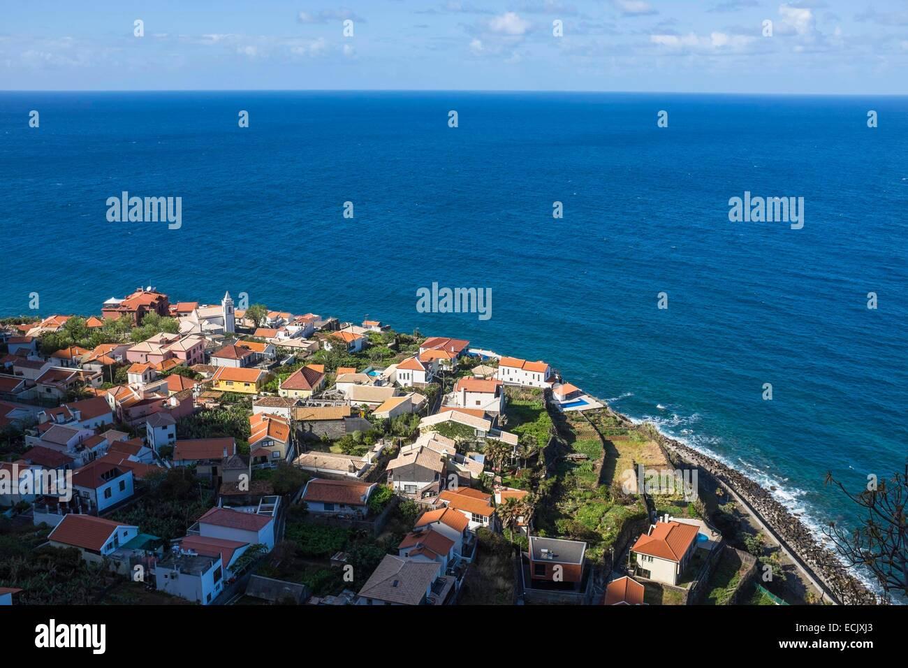 Portugal Madeira Island Jardim Do Mar A Picturesque