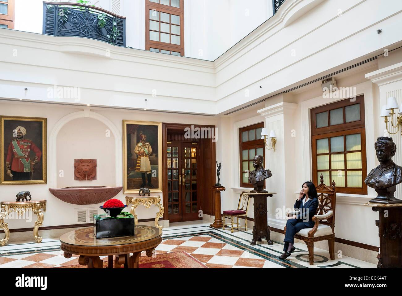 india new delhi janpath the imperial luxury hotel opened in 1936 stock photo royalty free. Black Bedroom Furniture Sets. Home Design Ideas