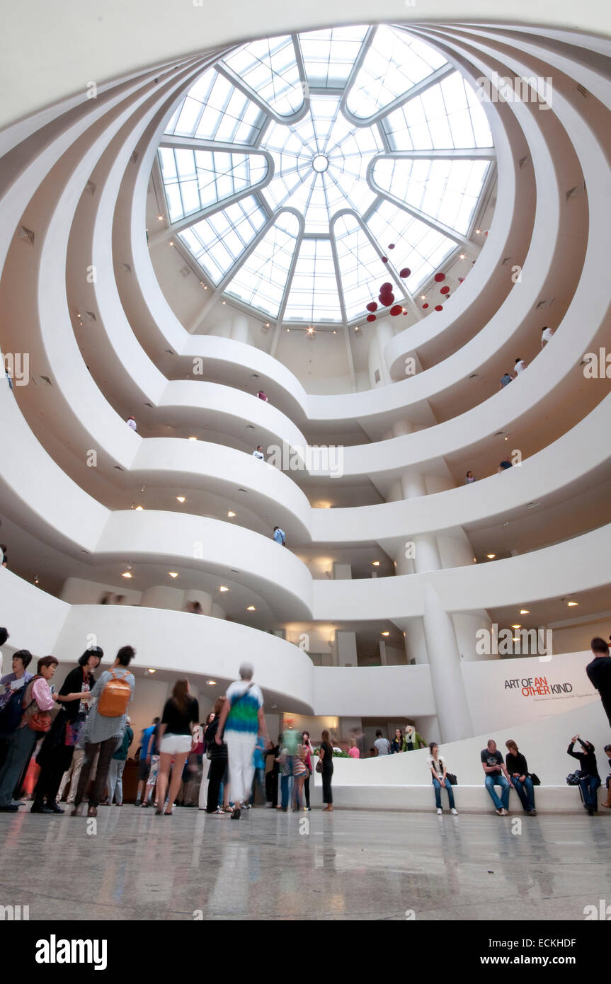 the guggenheim museum in new york by frank lloyd wright The guggenheim's component museums are the solomon r guggenheim museum in new york city the peggy guggenheim wright, frank lloyd: guggenheim museum, new york.