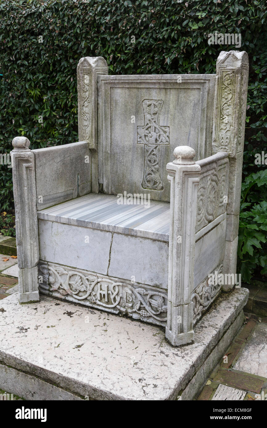 How To Reset Ecm >> marble Byzantine throne, Peggy Guggenheim Collection ...