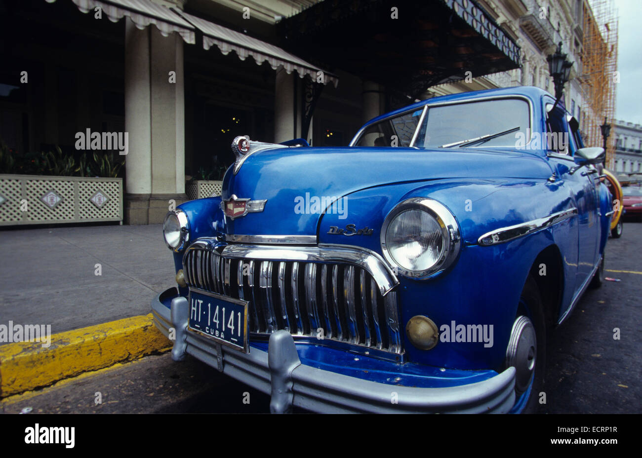 vintage american cars from the 1940s and 50s still roam the streets of havana