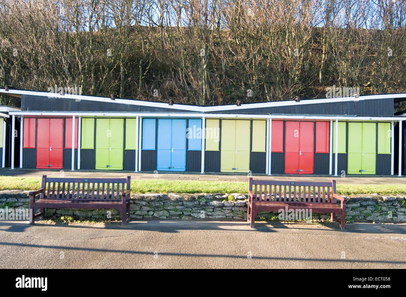 Stock Photo Beach Hut Huts Colour Color Door Doors Colored Coloured Paint Painted Bright Gaudy Exterior Wood Paints Wooden Door Doors Vivid