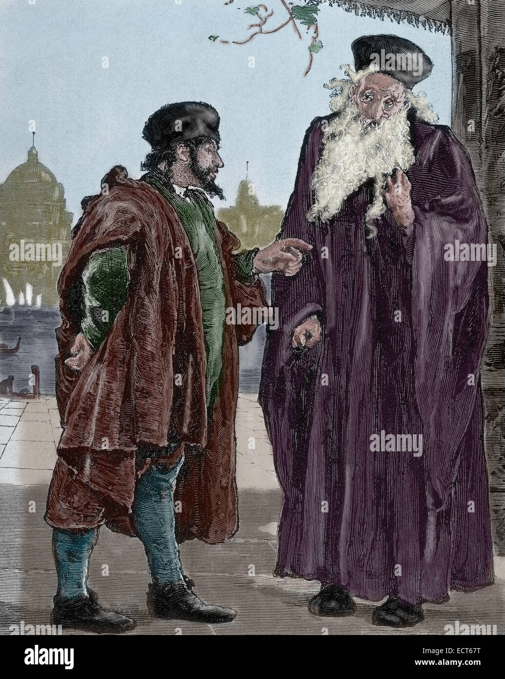 character analysis shylockes in shakespeares the merchant of venice Character analysis shylock - a jewish moneylender in venice angered by his mistreatment at the hands of venice's christians, particularly antonio, shylock schemes to eke out his revenge by ruthlessly demanding as.