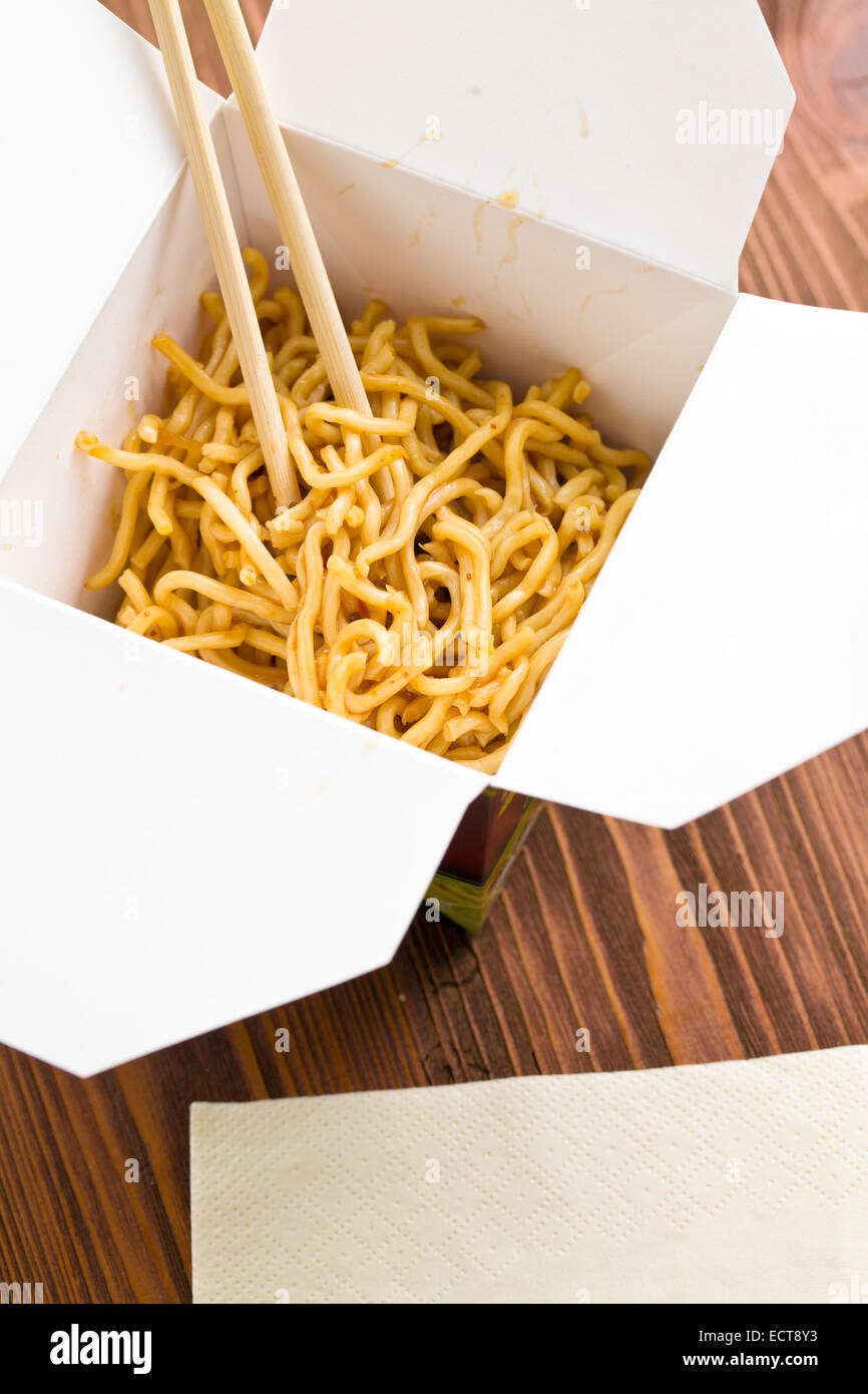 fast food chinese noodles in paper box stock photo royalty stock photo fast food chinese noodles in paper box