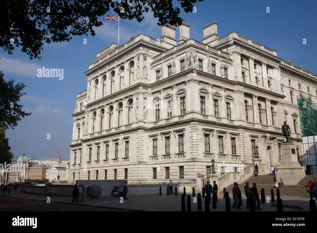 The italianate style the foreign and commonwealth office main stock photo royalty free image - Foreign and colonial office ...