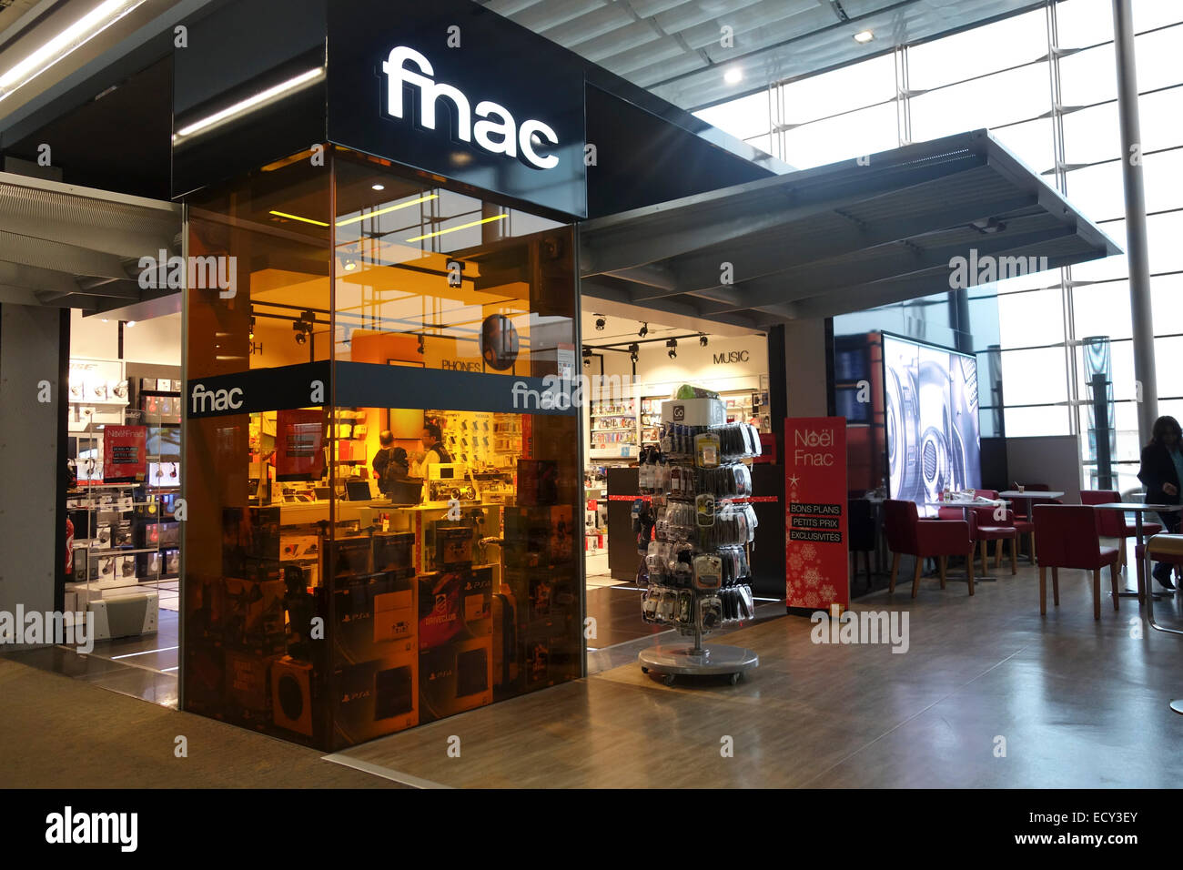 FNAC Department Store at Airport Charles de Gaulle, Paris ...
