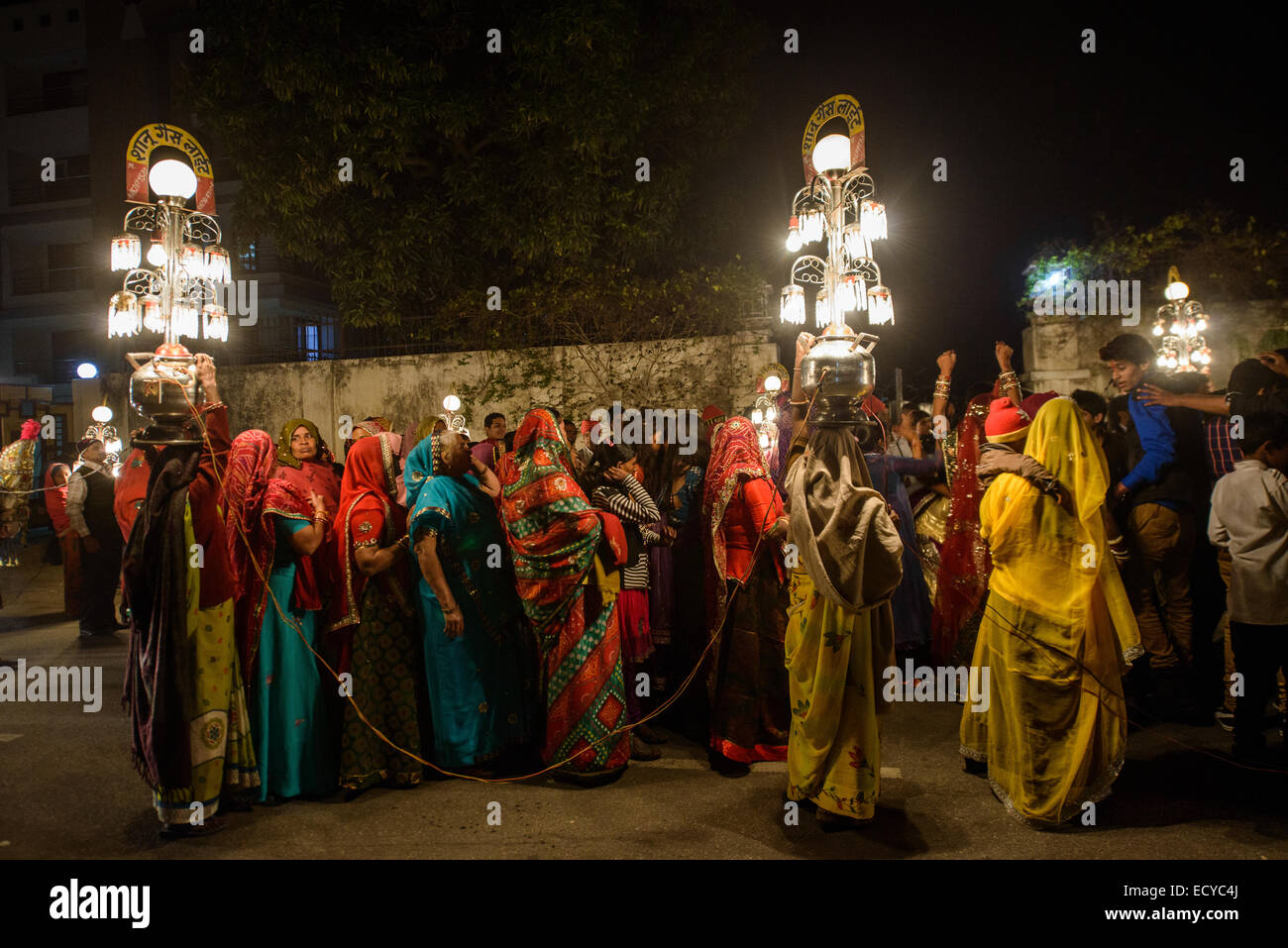 Indian wedding procession jaipur india stock photo royalty free indian wedding procession jaipur india junglespirit Images
