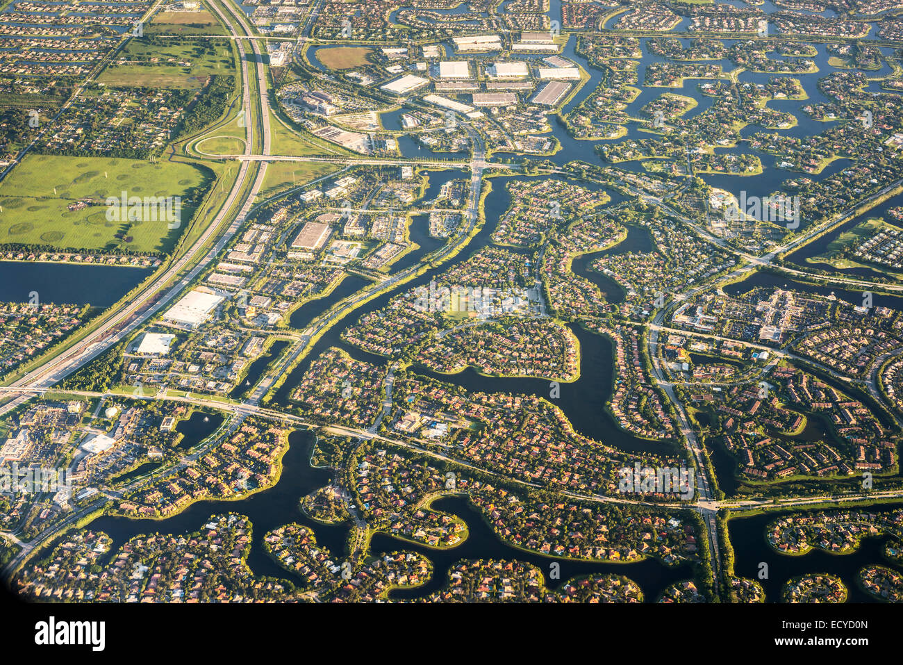 florida houses on the water. stock photo planeflyingamericausaaerial viewfloridahouses urbansuburbswater inletsatlantic coastfort lauderdale florida houses on the water f
