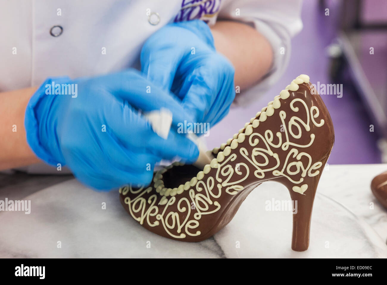 Edible Chocolate Shoes Uk
