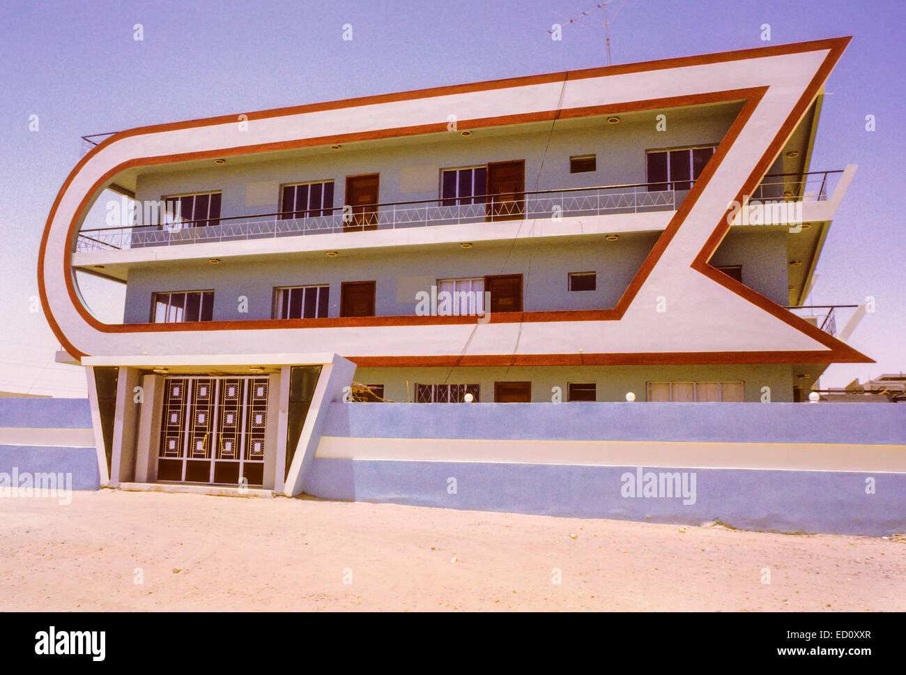 Kuwait fahaheel august 1968 private house modern for Architecture 1960