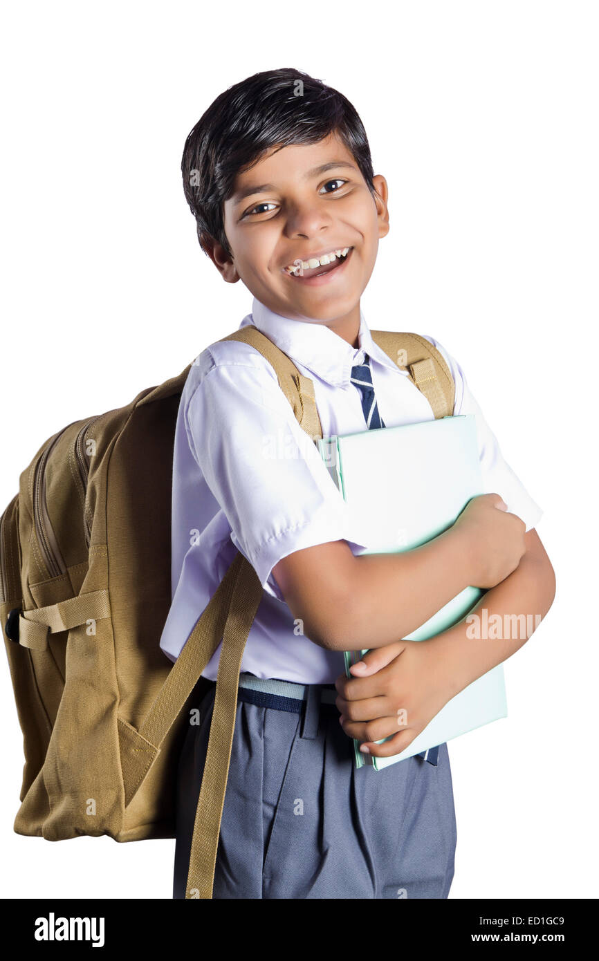 1 indian child school student Stock Photo, Royalty Free ...
