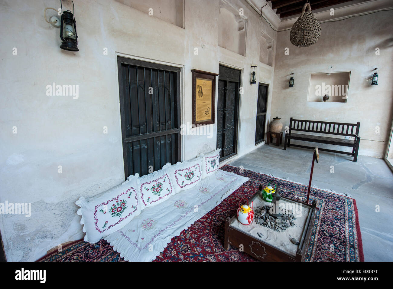 Heritage House In Old Dubai, U.A.E.